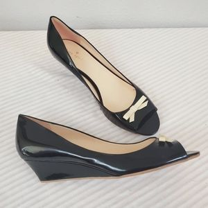 KATE SPADE ♠️ Tracey Patent Leather Wedge!
